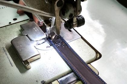 Виготовлення ременів зі шкіри та фурнітури замовника